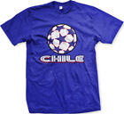Chile Stars Soccer Ball Chilean Country Team Born Heritage CHL CL Men's T-Shirt