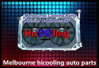 3 Rows Aluminum Radiator+Two Fan for GQ PATROL Y60 4.2L Petrol TB42S TB42E 87-97