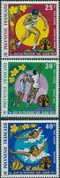 French Polynesia 1975 SG200-202 South Pacific Games set MNH