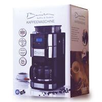 Barista Filterkaffeemaschine mit Mahlwerk 900W inkl. Glas-Kanne für 12 Tassen