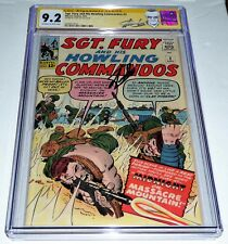 Sgt. Fury and His Howling Commandos #3 CGC SS Signature Autograph STAN LEE 9.2