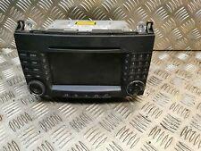 MERCEDES W245 Navigatore Satellitare Radio Lettore CD Audio Testa Unità Classe B