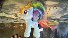 "TY My Little Pony Sparkle Rainbow Dash 7"" Plush Pegasus Shiny Wings Stuffed Toy"
