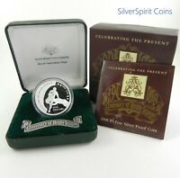 2008 RUGBY LEAGUE CENTENARY 1oz Silver Proof Coin