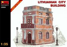 Miniart 35504 Lithuanian City Building WWII Diorama 1/35 Scale
