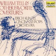 William Tell And Favourite Overtures - Cincinnati Pops Orch/Kunzel (NEW CD)