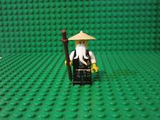 LEGO Ninjago Sensei Wu Black Outfit Minifigure minifig 2255 2507 2521 ninja