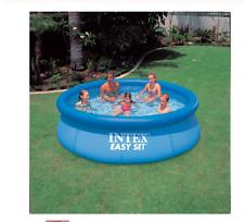 INTEX 10 feet  child summer swimming pool adult inflatable pool 244*76 giant