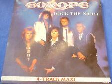 """EUROPE - rock the night   12"""" MAXI 1984"""