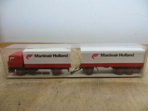 "WIKING 468 0027 - 1:87 - DAF Truck - "" Martinair Holland "" - Boxed"