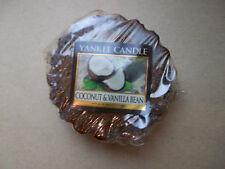 Yankee Candle Usa Rare Coconut & Vanilla Bean Wax Tart