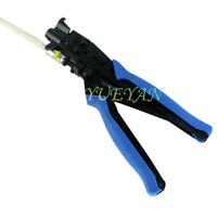 1PCS Squeeze clamp RG6 RG11 Crimping Pliers -5 -7 cable TV F Plug Crimping Tool