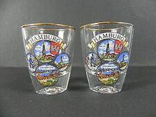 Amburgo Sparato Sammlerglas, 2 Er Set, Banchine, Michel, Municipio, Nuovo