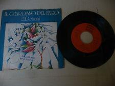 """GUARDIANO DEL FARO"""" DOMANI-disco 45 giri CETRA Italy 1977"""" PERFETTO"""