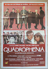 QUADROPHENIA Rare movie poster ARGENTINIAN MOD CLASSIC  STING THE WHO