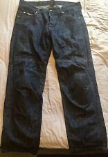 RST Motorbike Motorcycle Dark Blue Jeans With Kevlar 38 Regular *hardly worn*