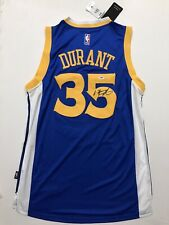 Kevin Durant Signed Warriors Jersey PSA