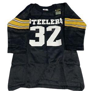 VTG 70s Rawlings NFL Pittsburgh Steelers Franco Harris Jersey Youth Sz Medium