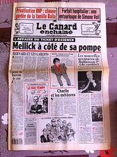 Le Canard Enchainé 18/08/1993; Forfait hositalier; une entourloupe de S. Veil