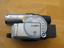 Hitachi DVD Video Model # DZ-MV550A 18x Optical Zoom SELLER IN CANADA no charger