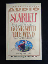 1991 Scarlett Gone With The Wind GWTW Audio Cassette Book 360 min Sealed Vtg NEW
