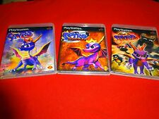 EMPTY Replacement Cases -- SPYRO The Dragon Trilogy SONY Playstation 1 PSOne PS1