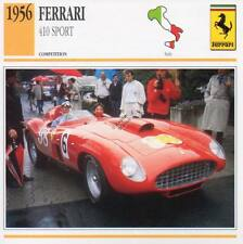 1956 FERRARI 410 Sport Racing Classic Car Photo/Info Maxi Card