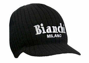 Bianchi-Milano Wool-Blended Cycling Cap - AIUN - Made in Italy