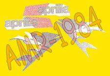 SERIE ADESIVI DECALCO CARENA APRILIA RS 125 2006 BIANCO APRILIA  AP8187001
