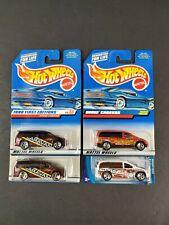 Hot Wheels Dodge Caravan Car Lot 4 First Edition 633 169 1026 Roll Patrol NEW