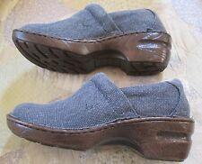B.O.C BORN Concept C130154 DENIM BLUE Premium Comfort Clogs Shoes Sz 9