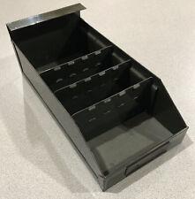 Vintage Metal Parts Drawer Industrial Decor Metal File Drawer with 3 dividers