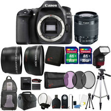 Canon Eos 80D Digital Slr Camera with 18-55mm Lens , Ttl Flash and Accessories