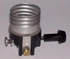 Leviton 3 Terminal Turn Knob Lamp Socket Interior for Wiring Bottom Light 30166J