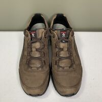 Ecco Womens Sneakers Size 8/8.5 (39) Brown Suede Comfort GUC