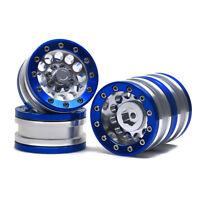 """1/4PCS Beadlock 1.9"""" Aluminum Wheel Rim For 1/10 RC AXIAL SCX10 RC4WD D90 CC01"""