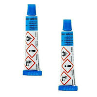 2  x 15g BICYCLE BIKE PUNCTURE REPAIR KIT GLUE INNER TUBE RUBBER SOLUTION TUBES