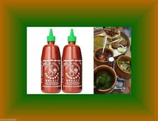 Sriracha Red Rooster Hot Chili Sauce 2 x 28oz HuyFong Foods Chinese-Indian-Carri