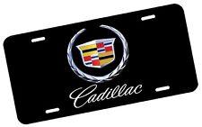 Cadillac License Plate Automotive .40 Alum. Hi-Quality