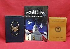 Marine Rifle Squad; 2nd Amendment Primer; What is Patriotism in the US; 3 Books