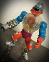 Vintage He-Man CUSTOM Roboto Figure Masters Of The Universe MOTU Mattel 84 Rare