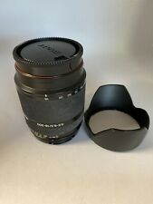 Sony Alpha 18-200 Zoom Lens Model Sal 18200 w Hood F/3.5 - 6.3