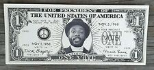 1968 DICK GREGORY FOR PRESIDENT DOLLAR BILL - MINT! - FREE Shipping!
