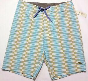 "NWT Tommy Bahama Men SAN PEDRO 11"" Swim Trunks Board Shorts Summer Sports 34 36"
