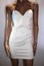 SUPRE Brand Cream After Party Bodycon Strapless Dress Size S BNWT #SD118