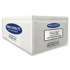 90 lb Reverse Collated Blank Plain Paper Copier Tabs 1/5 Cut Free Shipping