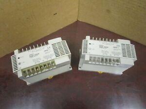 LOT OF 2 OMRON POWER SUPPLY S82K-10024 24Vdc 4.2A AMP S82K10024