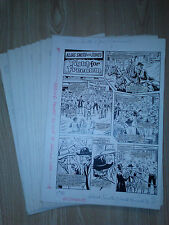 ALIAS SMITH AND JONES British Annual 1976 ORIGINAL ART 10 pages COMPLETE STORY