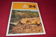 Allis Chalmers 21-B Crawler Tractor Dealers Brochure YABE14 ver8