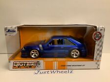 New ListingNew 2020 Vhtf Jada Big Time Muscle 1:24 Scale 1989 Ford Mustang Gt Mib Read